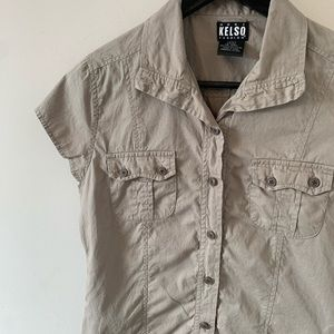 2/$18 KELSO / Cotton / Short Sleeve / Button Down